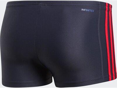 ADIDAS Herren Essence Core 3-Streifen Boxer-Badehose Blau