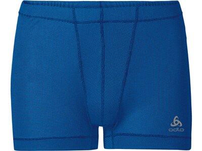 ODLO Herren Funktionsunterhose Boxer Special Cubic ST Blau