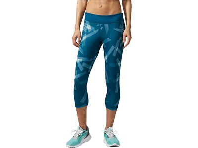 ADIDAS Damen Lauftights Response 3/4 Tight Q3 Blau