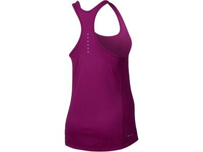 NIKE Damen Laufshirt / Tank Top Relay Dry Running Tank Rot