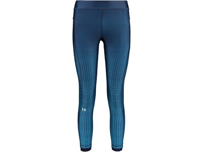 UNDER ARMOUR Damen 7/8 Trainingstights / Fitnesshose Blau