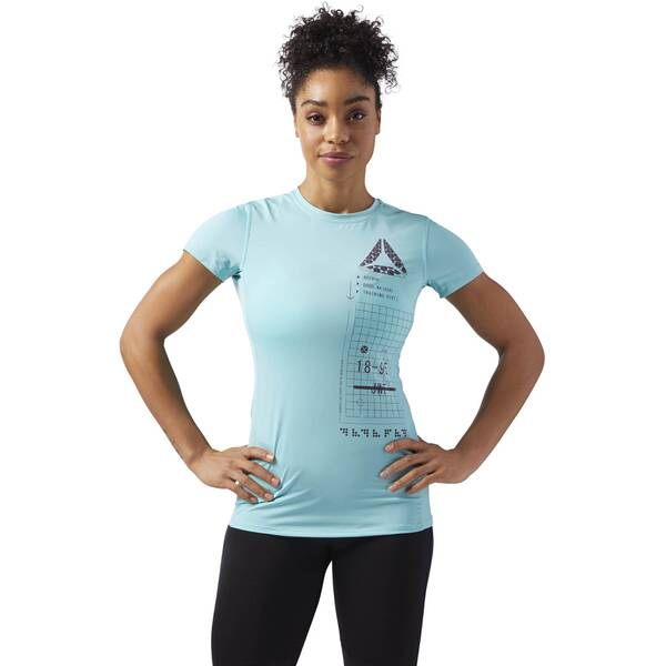 REEBOK Damen ACTIVCHILL Graphic T-Shirt