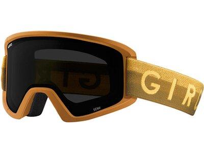 GIRO Herren Skibrille / Snowboardbrille Semi Gelb