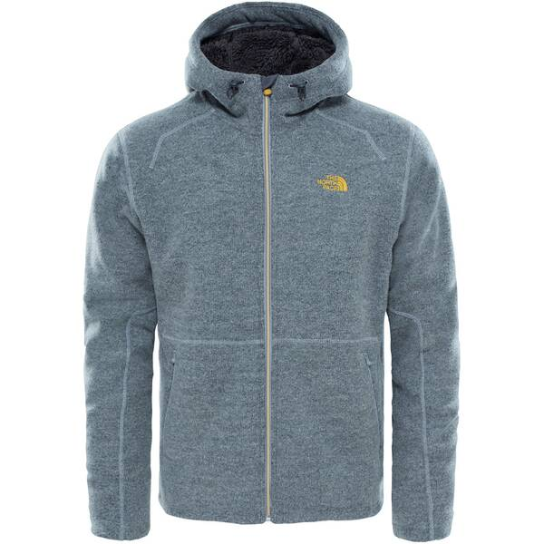 THE NORTH FACE Herren Fleecejacke mit Kapuze Zermatt Full Zip Hoody