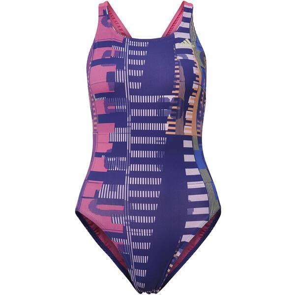 Bademode - ADIDAS Damen Allover Print Badeanzug › Bunt  - Onlineshop Intersport