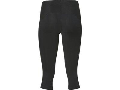 ASICS Damen Lauftight Leg Balance Knee Tight W Dreiviertellang Grau
