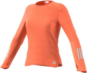 ADIDAS Damen Laufshirt / Trainingsshirt Response Long Sleeve Tee Langarm