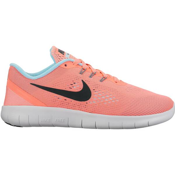 NIKE Girls Laufschuhe Free Run Orange