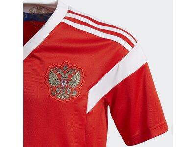 ADIDAS Kinder Russland Heimtrikot Rot