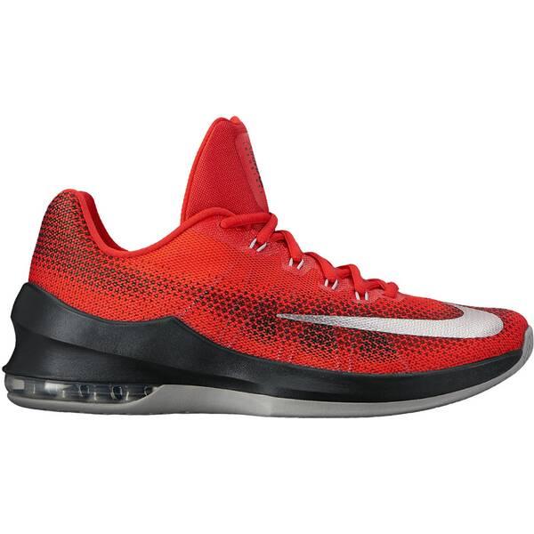 NIKE Herren Basketballschuhe Air Max Infuriate Low | Schuhe > Sportschuhe > Basketballschuhe | White | Gummi | NIKE