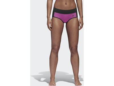 ADIDAS Damen Amphi Mid-Rise Bikinihose Lila