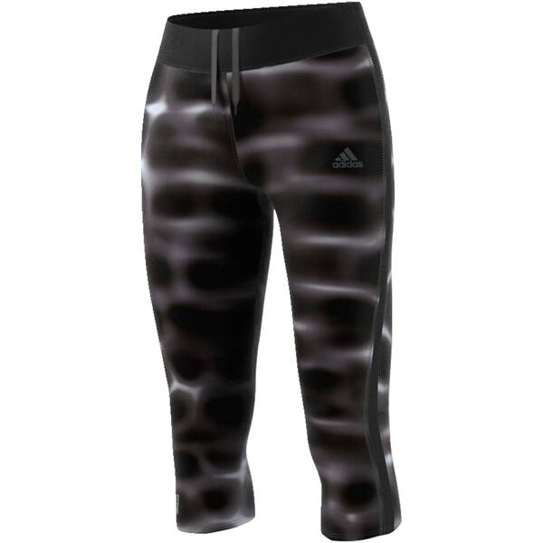 ADIDAS Damen Lauftights / Trainingstights Response 3/4 Tight