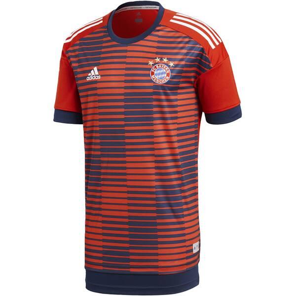 ADIDAS Herren FC Bayern München Home Pre-Match Shirt