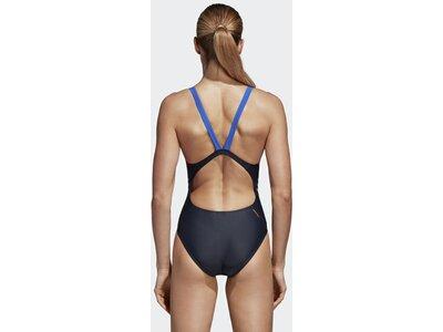 ADIDAS Damen Rubber-Printed Badeanzug Lila