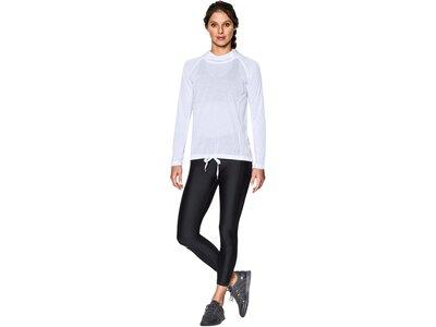 UNDER ARMOUR Damen Trainingsshirt / Langarmshirt UA Threadborne Train Weiß