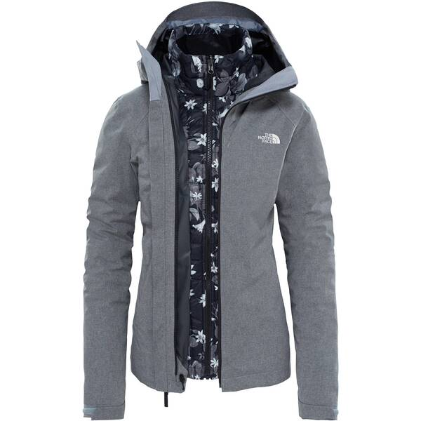 THE NORTH FACE Damen Doppeljacke / 3-in-1 Wanderjacke W Thermoball Triclimate Jacket