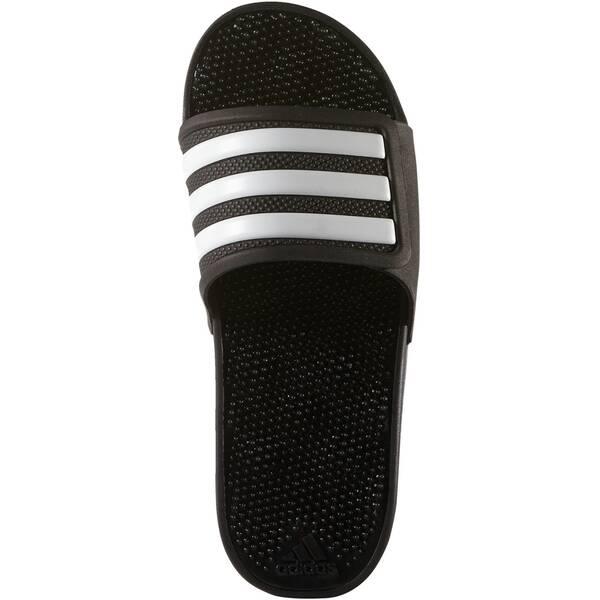 414abf86d237e ADIDAS Herren Badeschuhe Adissage 2.0 Stripes Core Black Ftwr White Core