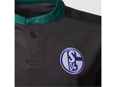 ADIDAS Kinder Fußballtrikot Schalke 04 3rd Jersey Saison 2017/18 Schwarz