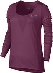 NIKE Damen Laufshirt / Langarmshirt Zonal Cooling Relay