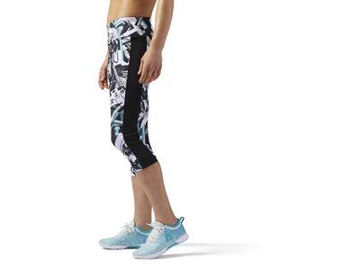 REEBOK Damen Workout Ready Capri Grau