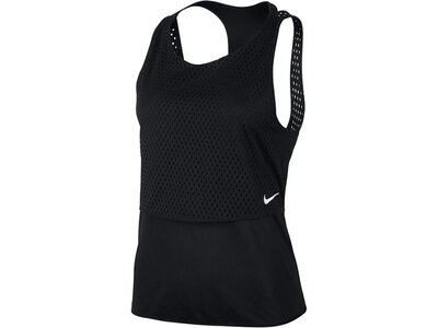 NIKE Damen Trainingstop / Tanktop Breathe Trainings Tank Schwarz