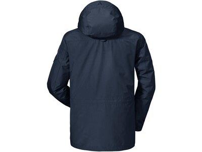 SCHÖFFEL Herren 3-in-1-Outdoor-Jacke Cusco1 Grau