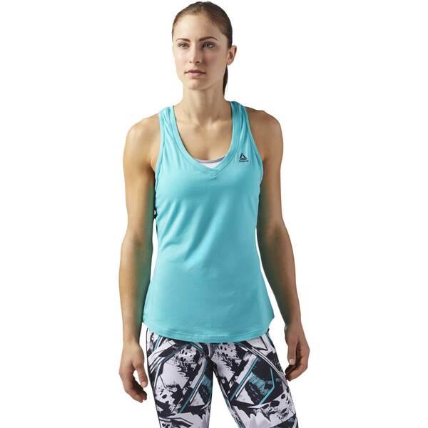 REEBOK Damen Workout Ready Mesh Tanktop
