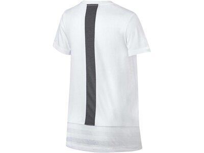 NIKE Mädchen Trainingsshirt Dry Kurzarm Grau