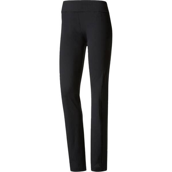 Hosen - ADIDAS Damen Sporthose Straight Woven › Schwarz  - Onlineshop Intersport