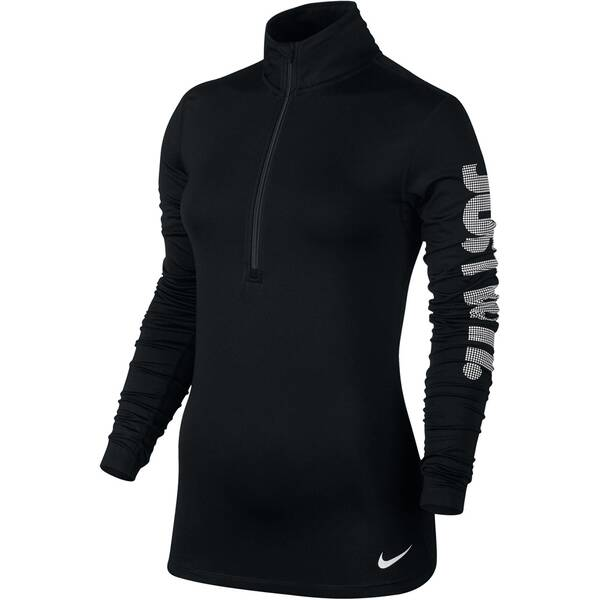 NIKE Damen Trainingsshirt Pro Warm Langarm