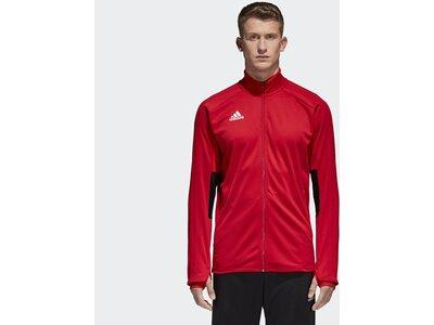 ADIDAS Herren Condivo 18 Trainingsjacke Rot