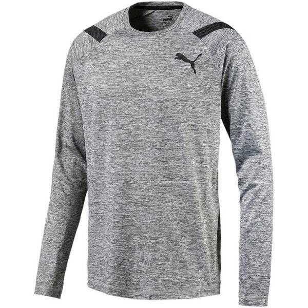 PUMA Herren Trainingsshirt Bonded Tech Long Sleeve Langarm