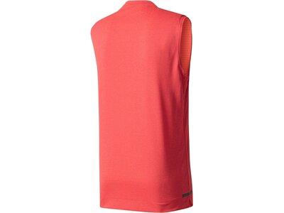 ADIDAS Herren Trainingsshirt Climachill Rot