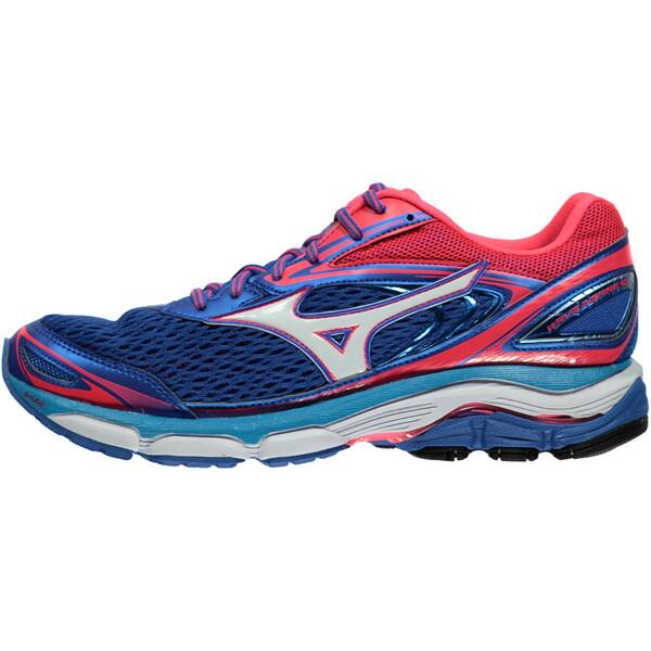 MIZUNO Damen Laufschuhe Wave Inspire 13 blau/weiß/pink