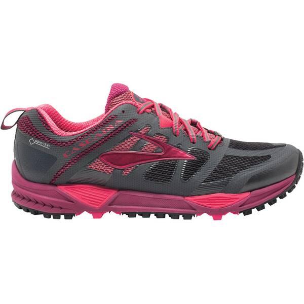 BROOKS Damen Laufschuhe / Trail Running Schuhe Cascadia 11 GTX grau/beere