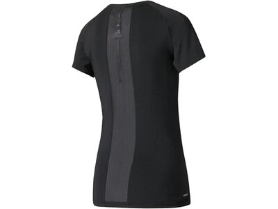 ADIDAS Damen Trainingsshirt Speed Tee Schwarz