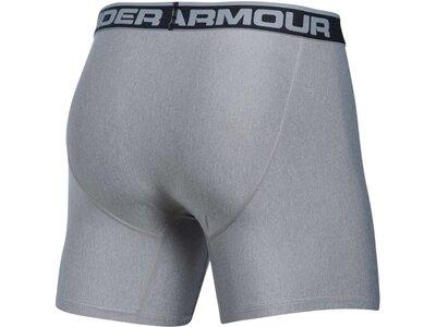 UNDERARMOUR Herren Boxershorts Boxerjock 2er Pack Grau