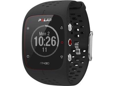 """POLAR GPS- Laufuhr """"M430"""" mit Herzfrequenzmessung Schwarz"""