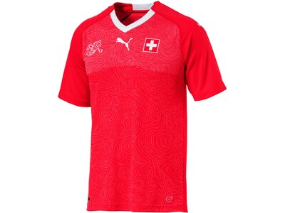 Puma Herren Fußballtrikot SUISSE Home Shirt Replica Rot