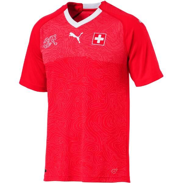 Puma Herren Fußballtrikot SUISSE Home Shirt Replica