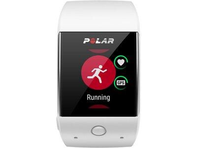 POLAR Smartwatch M600 White Weiß