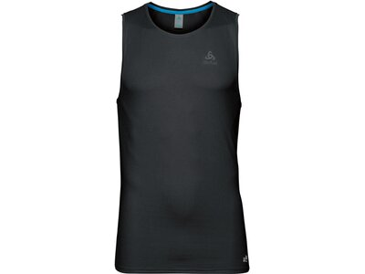 ODLO Herren Funktionsunterhemd SUW Top Crew Neck Singlet Active F-Dry Light Schwarz