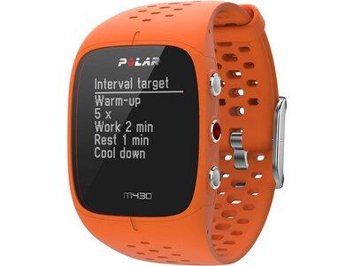 POLAR GPS Multifunktionsuhr M430 Orange